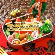 あのキャラもサンタさんに♪クリスマスに作りたいキャラ弁大集合!
