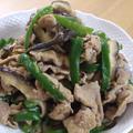 ご飯がすすむ☆ピーマンと椎茸の豚味噌炒め