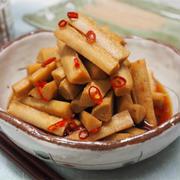 【レシピ】お酢でさっぱり♬ごぼうのたまり漬け♬