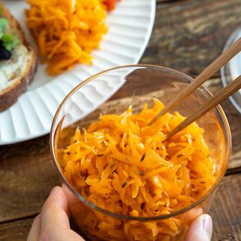 クミンのキャロットラペ。副菜、作り置き、にんじんの大量消費に!