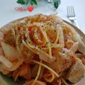 《レシピ有》1パンで☆業務スーパーの肉だんご入り☆トマトパスタ、ポテト。