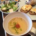 ごはんにもパンにも「たたき梅干しの和スープ」。 by イェジンさん