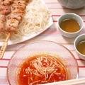 トマトのベトナム風つけ麺 by オチケロンさん