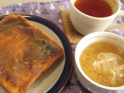 >紅茶に合う簡単朝食(2):ザワークラフトのスープ by ひめやんさん