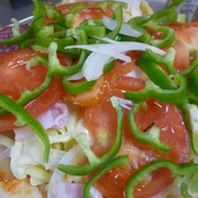 生地から作るピザのレシピ