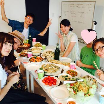 【シェアごはんの記録24】みんなでつくるシェアごはん♪ 出汁を味わうTHE和食パーティー
