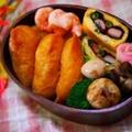 【男子弁当】いなり弁当&焼きそば弁当♪ by とまとママさん