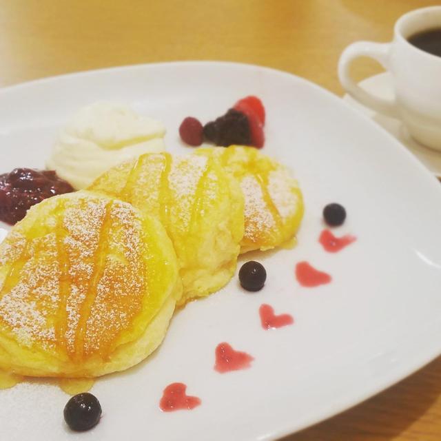 幸せのスフレパンケーキ(抹茶のアレンジも)♡レシピ