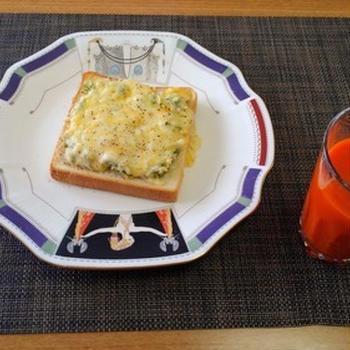 食欲がなかった日☆しらすマヨチーズトースト♪☆♪☆♪