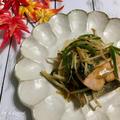 鮭ともやしの甘味噌炒め|撮影秘話 by かずやさん