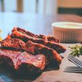 牛サガリ肉のステーキ 自家製シャリアピンソース