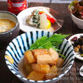 夜カフェ☆豚バラと大根のこっくり煮(レシピ)