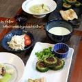 ◆冬瓜サラダに冬瓜の海老餡~ゆるやか糖質制限♪