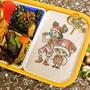 ワンピース幼少期ウソップ&チョッパーのクリスマスキャラ弁