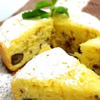 炊飯器で簡単!甘栗のチーズケーキ