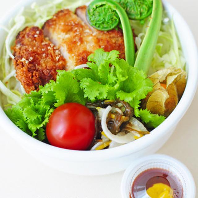 4月26日 金曜日 ソースカツ丼