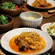豚スペアリブとキャベツの野菜ジュース煮。伏見稲荷へ。