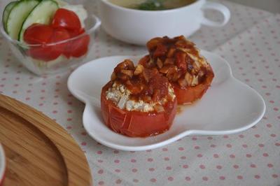 まるごとトマトde豆腐ヘルシー詰め