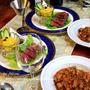 ◆チリコンカンにローストビーフでおうちごはん♪~緩やか糖質制限中