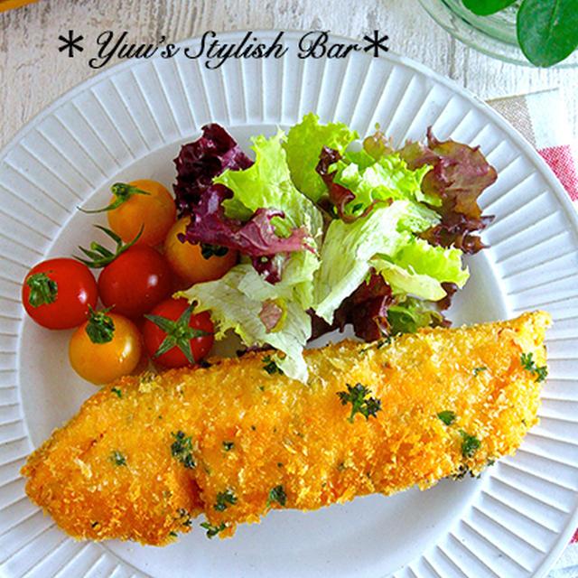 サックサク♡お魚嫌いも克服♡『鮭のチーズパセリフライ』《簡単*節約*お弁当》