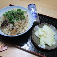 花椒香る☆鯖の炊き込みご飯