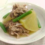 炊飯器で簡単!豚切り落とし肉と大根のオイスターソース煮