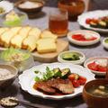 【献立】豚ヒレステーキと台湾カステラ。~またもやブルドック~