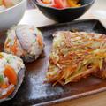 四つ葉北海道十勝100チーズで作るさつまいものガレットと晩ごはん