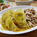 【家ごはん】 とろっとろキャベツの煮物♡ [レシピ] ゴボウのホットサラダ / キャベツと豚バラの煮物
