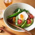 野菜と豆腐のキムチ丼