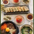 石焼きビビンパ、あさりとニラのチヂミ!おうち韓国料理♪