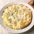 タコスの皮で、釜揚げシラスと新玉ねぎのピザ by outra_praiaさん