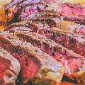 極上肉を格上げ!牧草牛のステーキ