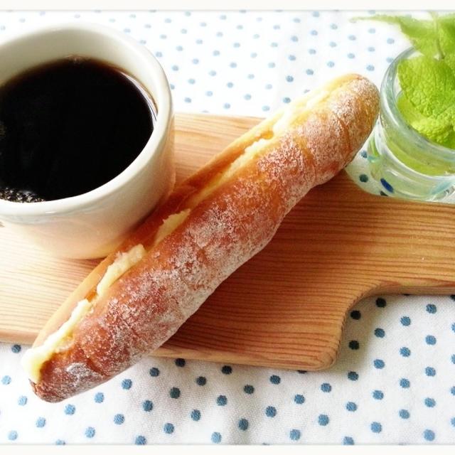 どうしても食べたくって焼きました♡大好きなミルクフラランスです♡(*^^*)