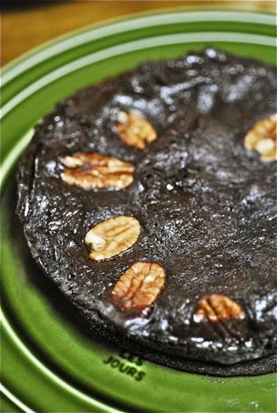 シリコンスチーム鍋とフープロで簡単チョコケーキ 豆乳編