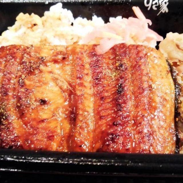 ■外食【ドライブスルーで すき家の鰻牛丼/香林さんのオリジナル中華丼】