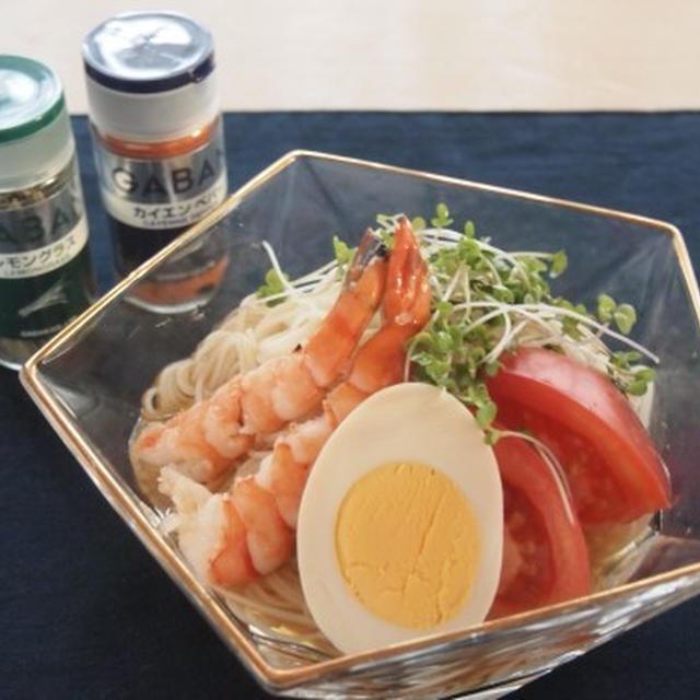 トムヤンクン風素麺 <スパイス大使>