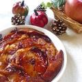フライパンで簡単!りんごとヨーグルトのケーキ