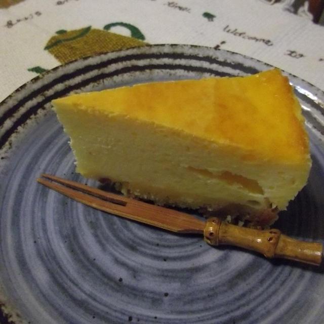 普通の、チーズケーキです。