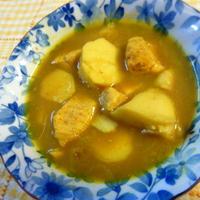 里芋とむね肉のスープカレーのレシピ