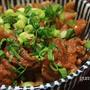 牛すじ肉と蒟蒻の白味噌煮(どてやき)