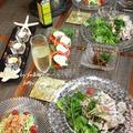 ◆パクチーたっぷり冷しゃぶサラダ~ゆるやか糖質制限♪