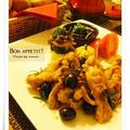 チキンカチャトーラと牡蠣のチャウダー、焼きたてパンでプチディナー(レシピ付き) by momoさん