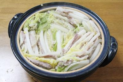 豚バラと白菜のミルフィーユ鍋 調理時間15~30分