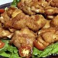 【ノンフライ】オーブンで鶏から揚げを作ってみた*過熱水蒸気オーブンレンジ(自動メニュー)【ヘルシー】