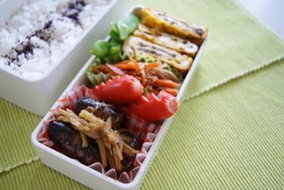生姜煮魚弁当。
