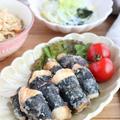 ごはんがすすむ♪鶏むね肉の海苔巻き揚げ by kaana57さん