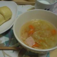サフランを使ってスープ