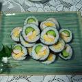 サラダ巻きとコストコのお寿司で夕食♪ by watakoさん