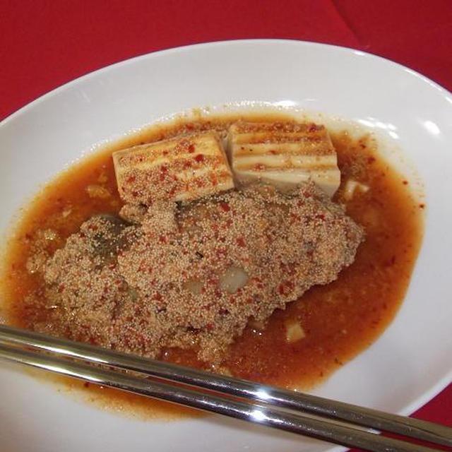 韓国風★からすかれいの明太子煮